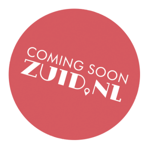 Button van website Zuid.nl - Coming Soon